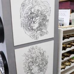 Outline Prints